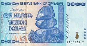 Zimbabwei dollár