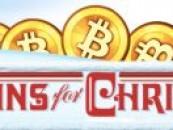 Karácsonyi bitcoin-ajándékkal az új felhasználókért