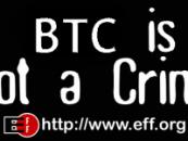 Az EFF és a Bitcoin