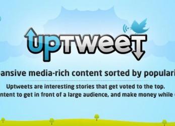 UpTweet: ismét összefut a bitcoin és a közösségi média